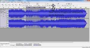 tagliare canzone audacity