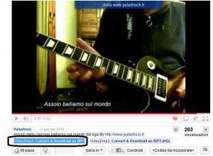 scaricare musica youtube, download musica youtube